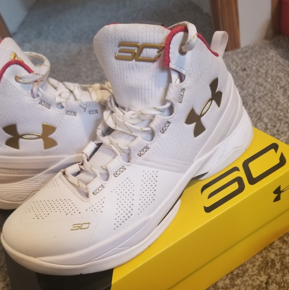 Under Armour Shoes Curry 2 Color Gold